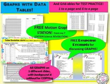 GRAPHS GRAPHS GRAPHS!!! Every format IMAGINABLE & Editable!!