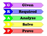 GRASP math problem solving poster