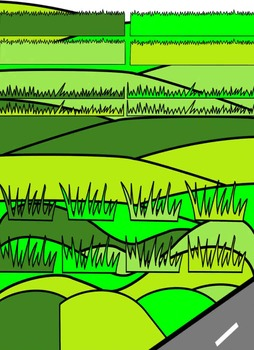 GRASS CLIP ART * COLOR AND BLACK AND WHITE