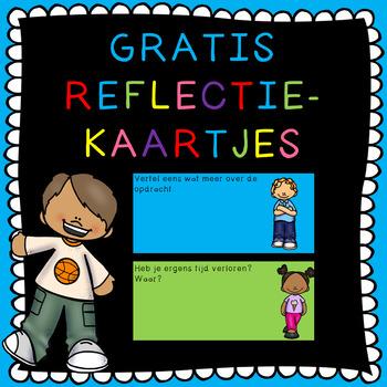 GRATIS reflectievragen