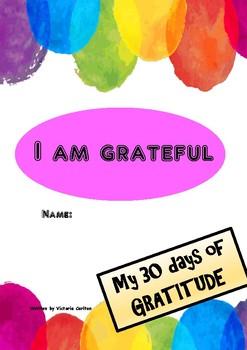 GRATITUDE JOURNAL to help children express thankfulness