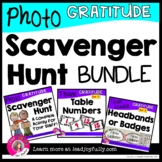 GRATITUDE Photo Scavenger Hunt for Staff BUNDLE