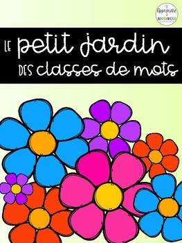 GRATUIT - Le petit jardin des classes de mots