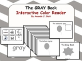 GRAY Interactive Color Sight Word Reader; Kindergarten; Special Ed.