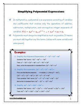 GRE Math Prep: Simplifying Polynomial Expressions