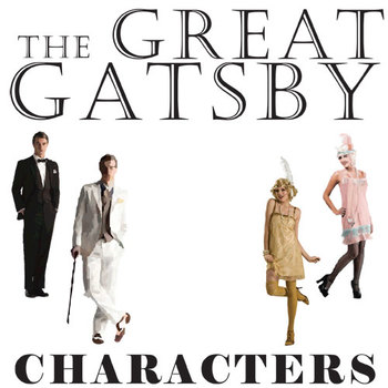 THE GREAT GATSBY Characters Organizer (by F. Scott Fitzgerald)