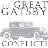 THE GREAT GATSBY Conflict Graphic Analyzer - 6 Types