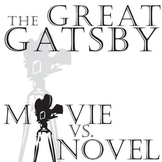 THE GREAT GATSBY Movie vs. Novel Comparison