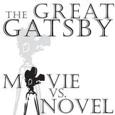 THE GREAT GATSBY Movie vs. Novel Comparison