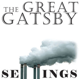 THE GREAT GATSBY Setting Graphic Organizer - Physical & Em