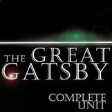 THE GREAT GATSBY Unit - Novel Study Bundle (Fitzgerald) -