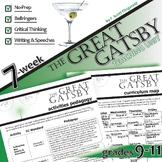 THE GREAT GATSBY Unit Plan - Novel Study Bundle (Fitzgeral