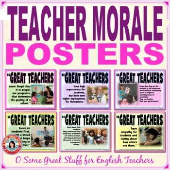 GREAT TEACHERS! Inspirational Posters for Inspired Teachers!