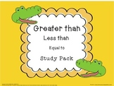 GREATER THAN - LESS THAN STUDY PACK