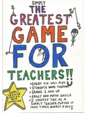 GREATEST GAME FOR TEACHERS! ALL 10 PAGES!