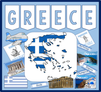 GREECE GREEK LANGUAGE MULTICULTURE AND DIVERSITY RESOURCES DISPLAY