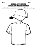 GREEK CITY STATE DESIGN YOUR OWN APPAREL Assignment