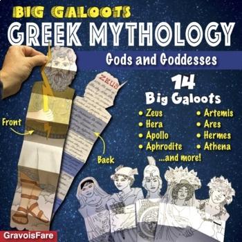 GREEK MYTHOLOGY Activities: Gods and Goddesses—14 Big Galoots