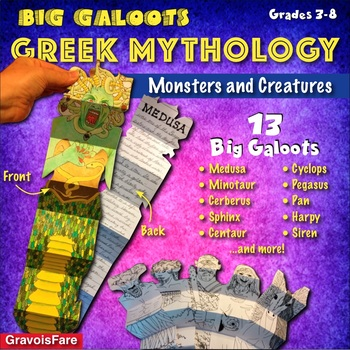 GREEK MYTHOLOGY: Monsters and Creatures—13 Big Galoots