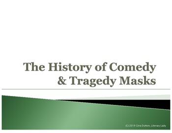 GREEK THEATRE / HISTORY OF COMEDY & TRADEGY MASKS