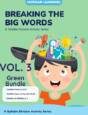 GREEN BUNDLE/VOL 3: Breaking the Big Words: Syllable Divis