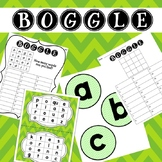 GREEN Boggle - Whole class, Small group, Independent variations
