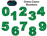 GREEN CAMO * Numbers * Bulletin Board * Memorial Day * Independence