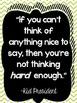 GREEN CHEVRON Inspirational Quotes