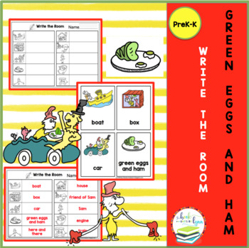 GREEN EGGS AND HAM WRITE THE ROOM