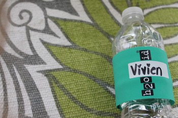 GREEN H2O ID® Reusable Colorful Water Bottle Bands, Labels, Sleeves, Wraps