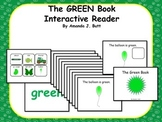 GREEN Interactive Color Sight Word Reader; Kindergarten; Special Education;