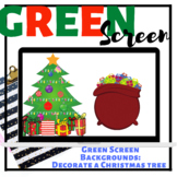 GREEN SCREEN: Decorate a Christmas Tree| Speech Therapy| Distance Learning