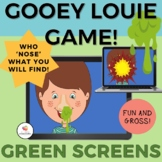 GREEN SCREEN Gooey Louie Game for Distance Learning