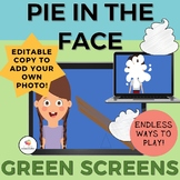 GREEN SCREEN PIE IN THE FACE GAME- Distance Learning