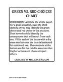 GREEN VS. RED CHOICES VISUAL