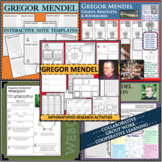 GREGOR MENDEL - WebQuest in Science - Famous Scientist - Differentiated