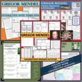 GREGOR MENDEL BUNDLE Science Scientist Research Project Biography Notes