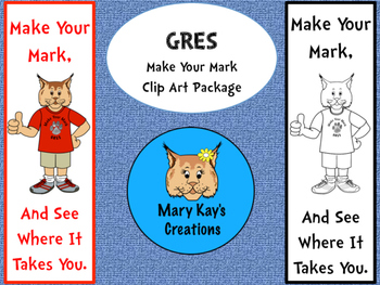 GRES Make Your Mark Clip Art Package