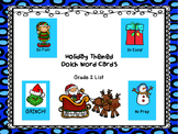 GRINCH! Grade 2 Dolch Word Game