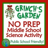 GRINCH'S GARDEN Holiday Christmas Science Activity - Middle School Plant Biology