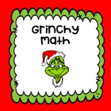 "How the Grinch Stole Christmas! ""GRINCHY MATH"""