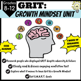 GRIT: A Growth Mindset Unit for Upper Grades