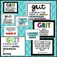 GRIT - Growth Mindset Poster Pack! 4 Posters!