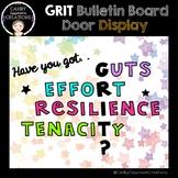 GRIT Growth Mindset Door and Bulletin Board Display