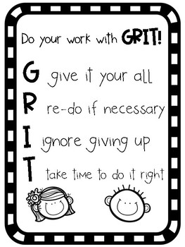 GRIT Posters