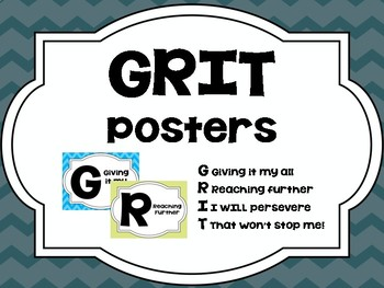 GRIT Posters and Bulletin Board