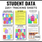 GRIT Trackers Student Data Tracking Binder Notebooks