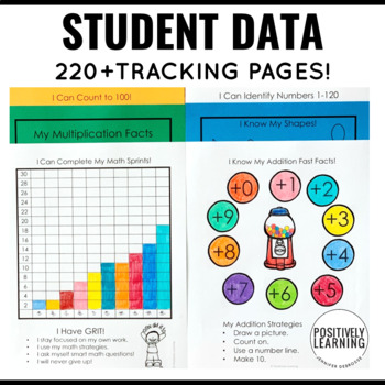 Student Data Tracking Sheets