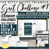 Growth Mindset Activities / Teaching Grit Activities / Reflection / Application