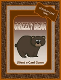 GRIZZLY BEAR SILENT E CARD GAME